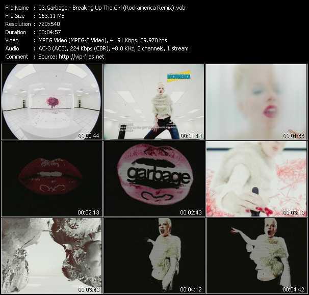 Garbage - Breaking Up The Girl (Rockamerica Remix)