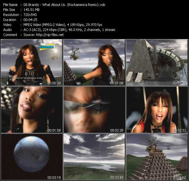 Brandy - What About Us? (Rockamerica Remix)