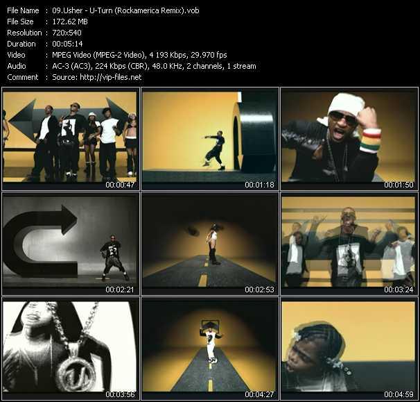Usher - U-Turn (Rockamerica Remix)