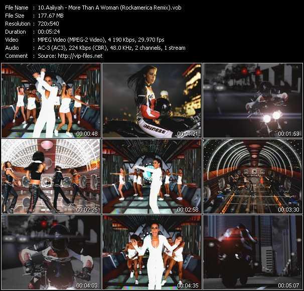 Aaliyah - More Than A Woman (Rockamerica Remix)