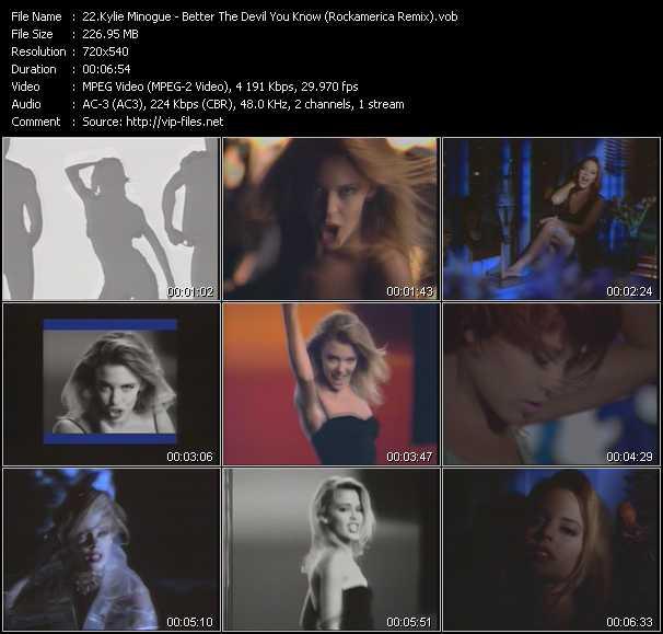 Kylie Minogue - Better The Devil You Know (Rockamerica Remix)