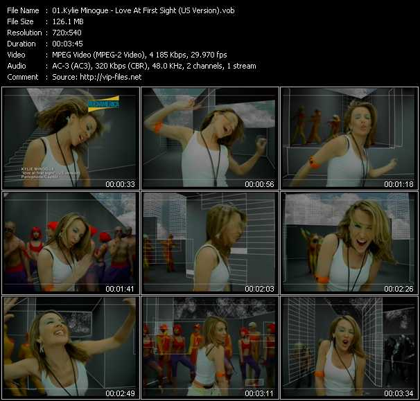 Kylie Minogue - Love At First Sight (US Version)