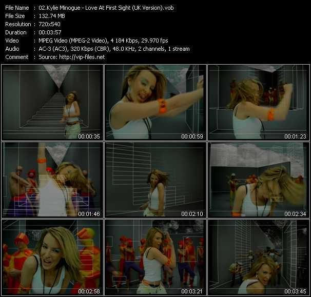 Kylie Minogue - Love At First Sight (UK Version)