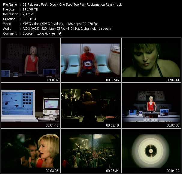 Faithless Feat. Dido - One Step Too Far (Rockamerica Remix)