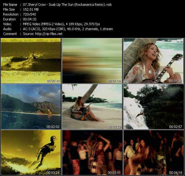 Sheryl Crow - Soak Up The Sun (Rockamerica Remix)