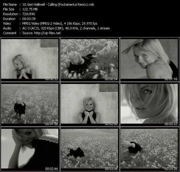 Geri Halliwell - Calling (Rockamerica Remix)