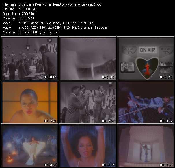 Diana Ross - Chain Reaction (Rockamerica Remix)
