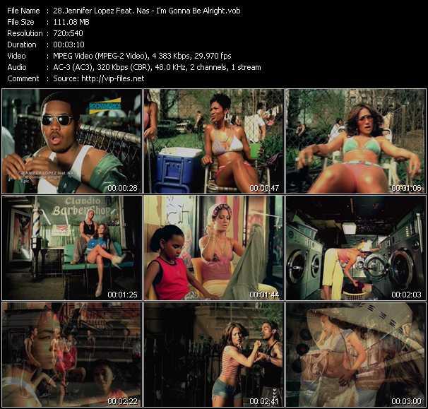 Jennifer Lopez Feat. Nas - I'm Gonna Be Alright