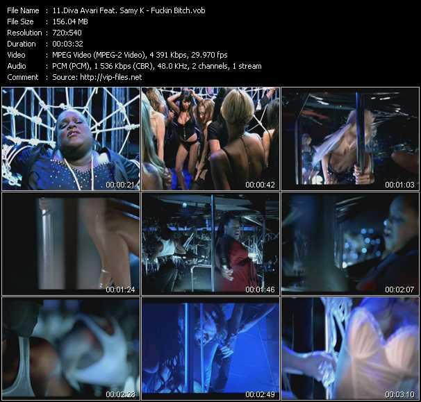 Diva Avari Feat. Samy K - Fuckin Bitch