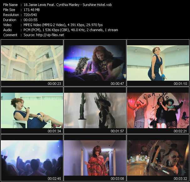 Jamie Lewis Feat. Cynthia Manley - Sunshine Hotel