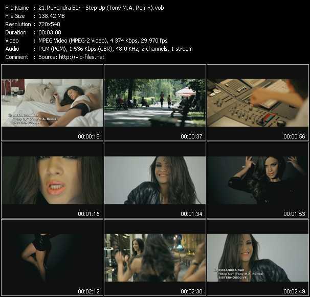 Ruxandra Bar - Step Up (Tony M.A. Remix)