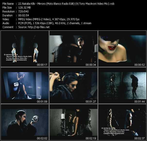 Natalia Kills - Mirrors (Moto Blanco Radio Edit) (Vj Tony MacAroni Video Mix)