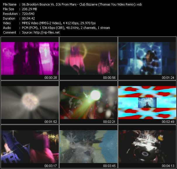 Brooklyn Bounce Vs. DJs From Mars - Club Bizzarre (Thomas You Video Remix)
