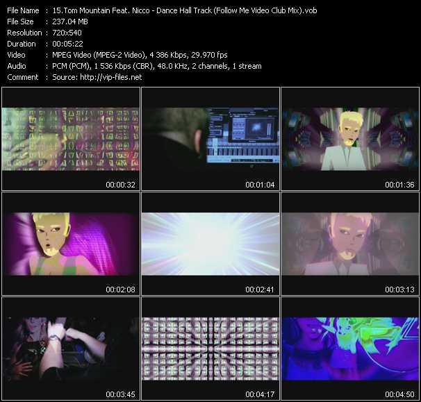 Tom Mountain Feat. Nicco - Dance Hall Track (Follow Me Video Club Mix)