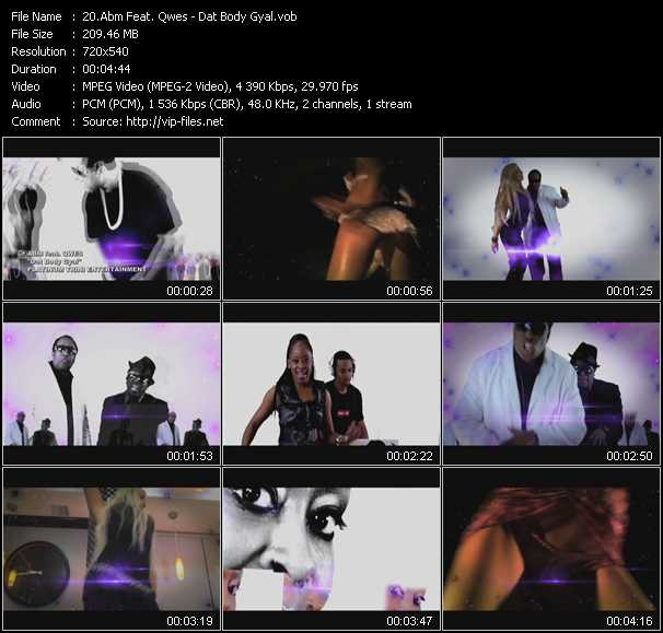 Abm Feat. Qwes - Dat Body Gyal