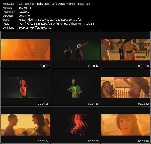 Rasel Feat. Baby Noel - Let's Dance, Vamos A Bailar