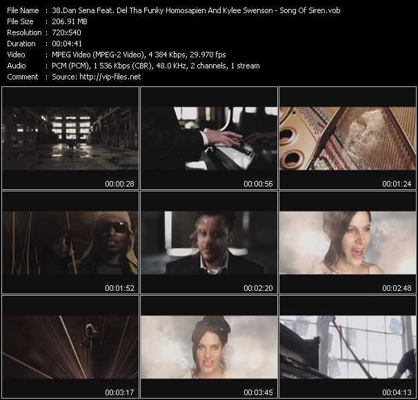 Dan Sena Feat. Del The Funky Homosapien (Del Tha Funkee Homosapien) And Kylee Swenson - Song Of Siren
