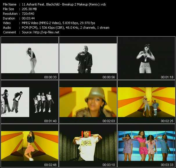Ashanti Feat. Blackchild - Breakup 2 Makeup (Remix)