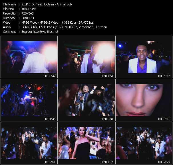 R.I.O. Feat. U-Jean - Animal