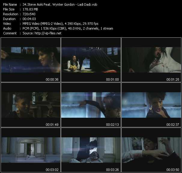 Steve Aoki Feat. Wynter Gordon - Ladi Dadi