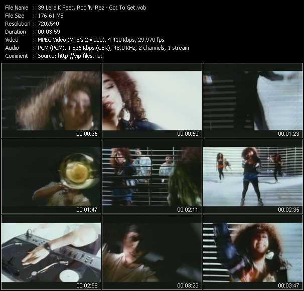 Leila K Feat. Rob 'N' Raz - Got To Get