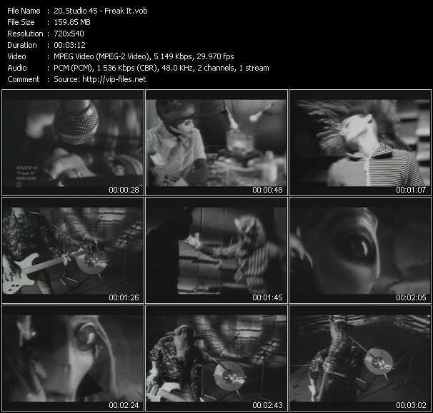 Studio 45 - Freak It