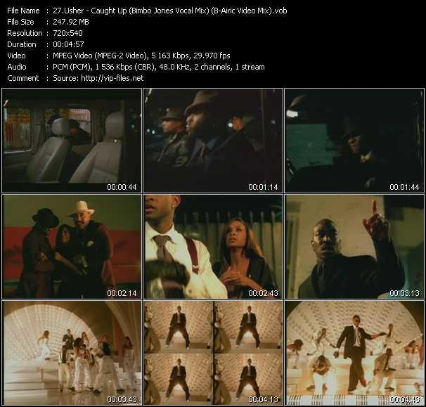 Usher - Caught Up (Bimbo Jones Vocal Mix) (B-Airic Video Mix)