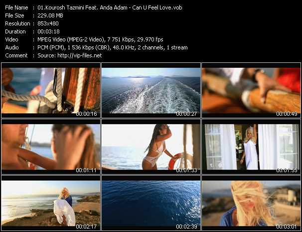 Kourosh Tazmini Feat. Anda Adam - Can U Feel Love