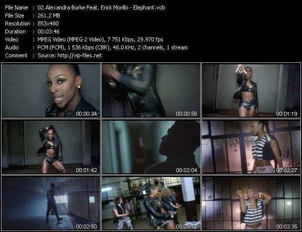 Alexandra Burke Feat. Erick Morillo - Elephant