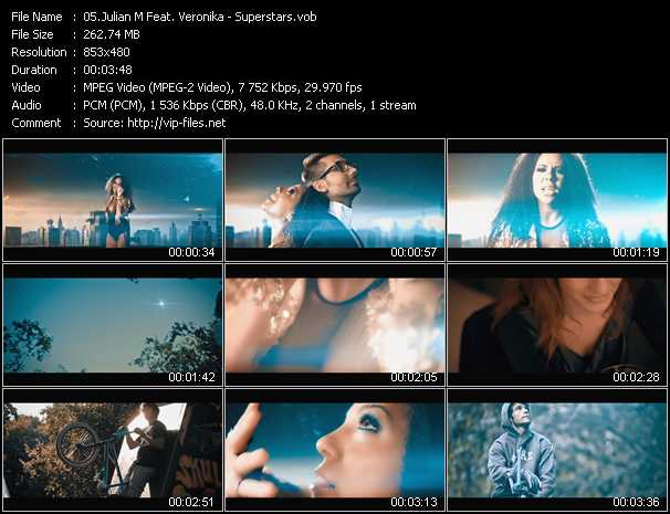 Julian M Feat. Veronika - Superstars