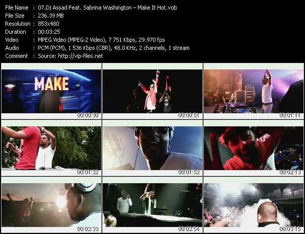 Dj Assad Feat. Sabrina Washington - Make It Hot