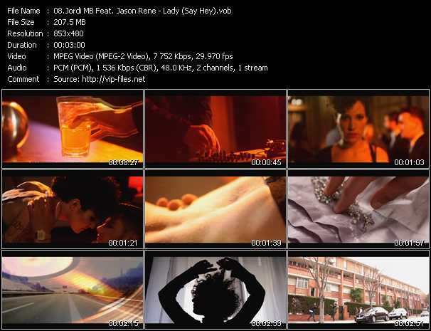 Jordi MB Feat. Jason Rene - Lady (Say Hey)