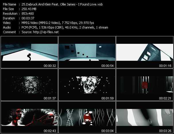 Dabruck And Klein Feat. Ollie James - I Found Love