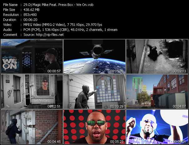 Dj Magic Mike Feat. Press Box - We On