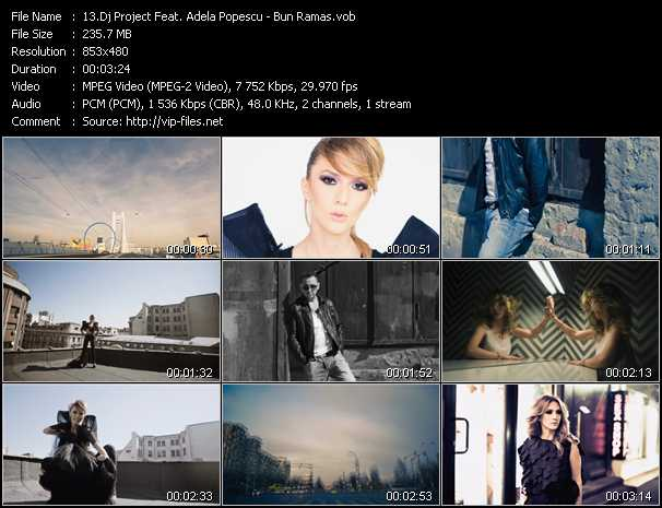 Dj Project Feat. Adela Popescu - Bun Ramas