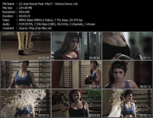 Joan Reyes Feat. Max'C - Wanna Dance