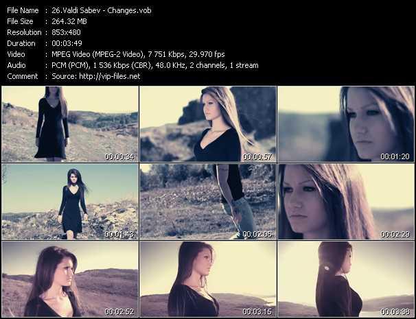 Valdi Sabev - Changes