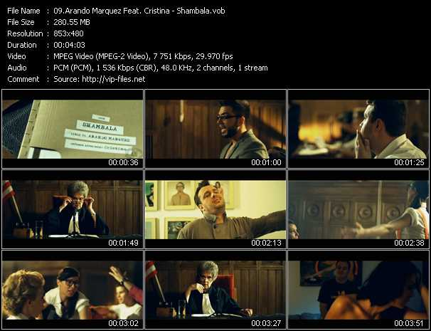 Arando Marquez Feat. Cristina - Shambala