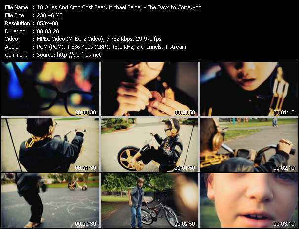 Arias And Arno Cost Feat. Michael Feiner - The Days To Come
