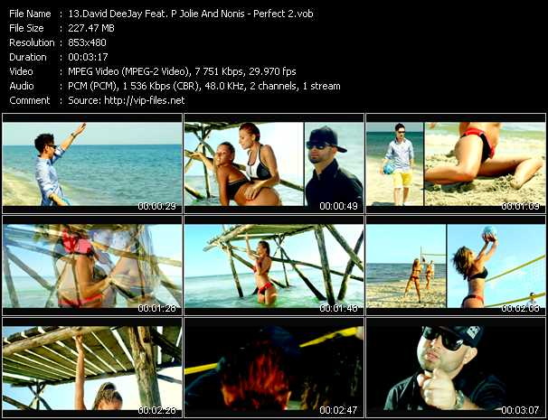 David Deejay Feat. P Jolie And Nonis - Perfect 2