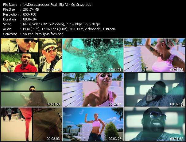 Desaparecidos Feat. Big Ali - Go Crazy