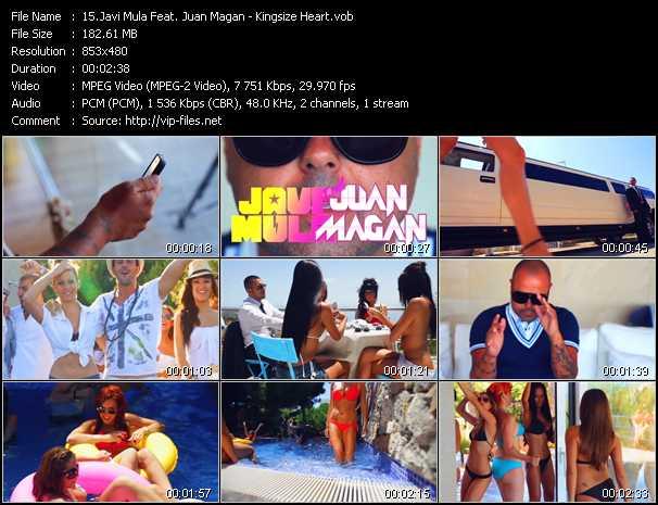 Javi Mula Feat. Juan Magan - Kingsize Heart