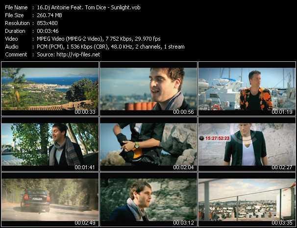 Dj Antoine Feat. Tom Dice - Sunlight