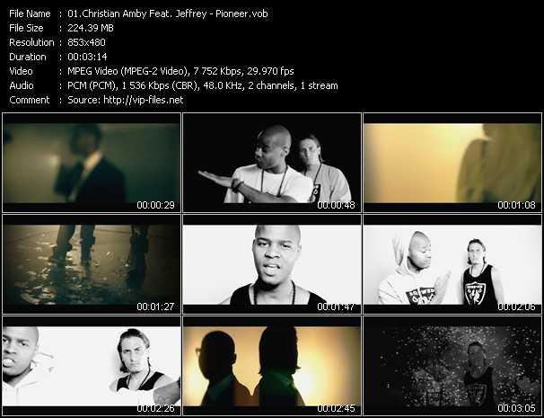 Christian Amby Feat. Jeffrey - Pioneer