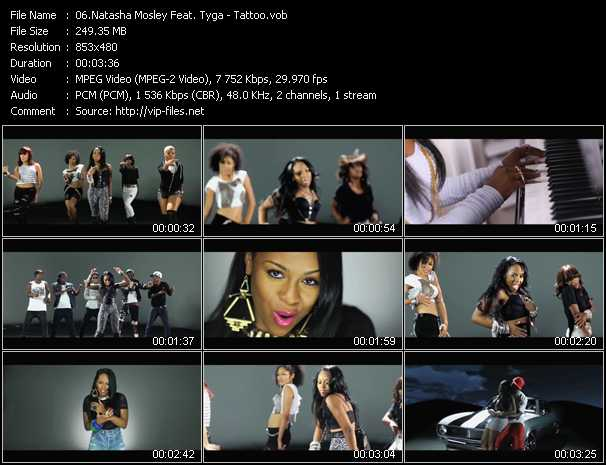 Natasha Mosley Feat. Tyga - Tattoo