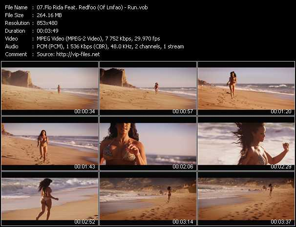 Flo Rida Feat. Redfoo (Of Lmfao) - Run