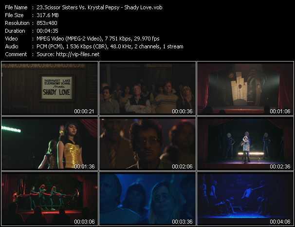 Scissor Sisters Vs. Krystal Pepsy - Shady Love