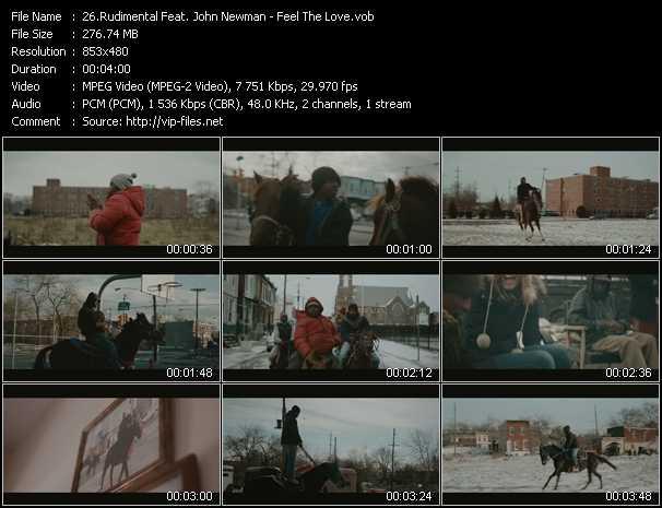 Rudimental Feat. John Newman - Feel The Love