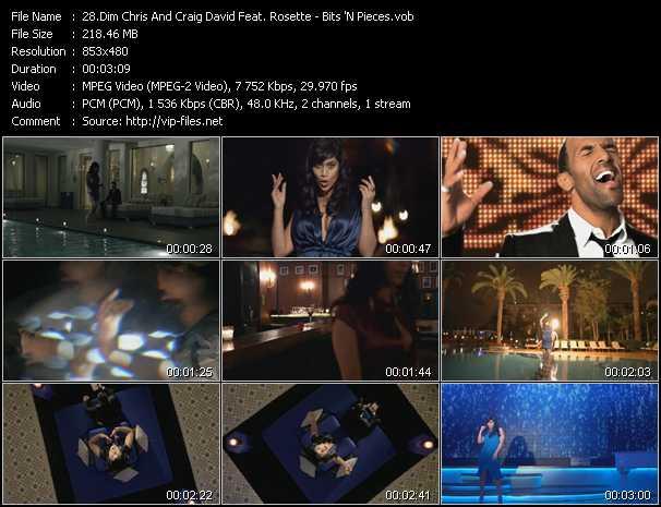 Dim Chris And Craig David Feat. Rosette - Bits 'N Pieces