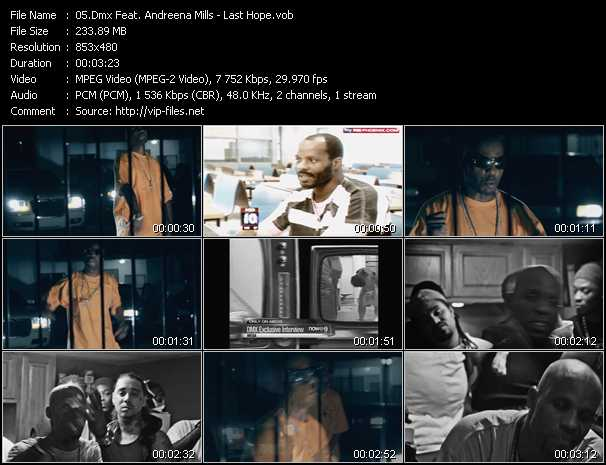 Dmx Feat. Andreena Mills - Last Hope